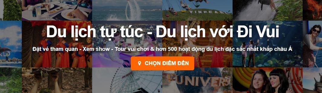 Website đặt tour du lịch trực tuyết tốt nhất