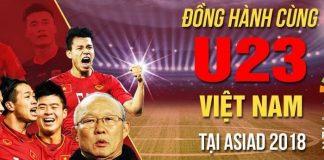 Website xem trực tiếp bóng đá U23 Việt Nam tại Asiad 2018