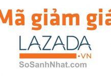 Mã giảm giá Lazada 2018, mã khuyến mãi Lazada T8/2018