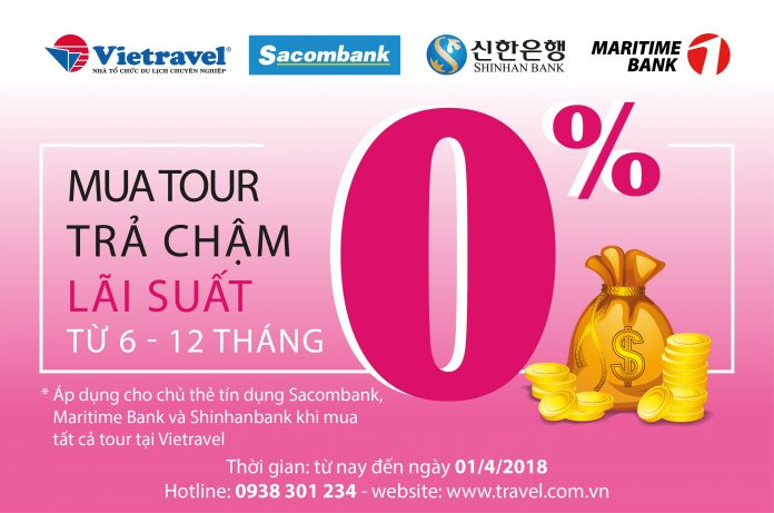 Mã giảm giá Vietravel 2018, voucher khuyến mãi tour 30/4 1/5 Vietravel