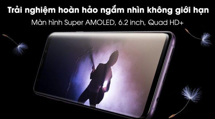 Samsung galaxy S9 Plus màn hình vô cực