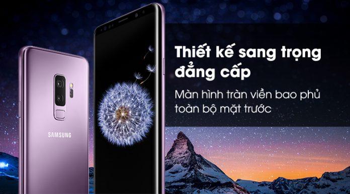 Samsung galaxy S9 Plus thiết kế sang trọng đẳng cấp