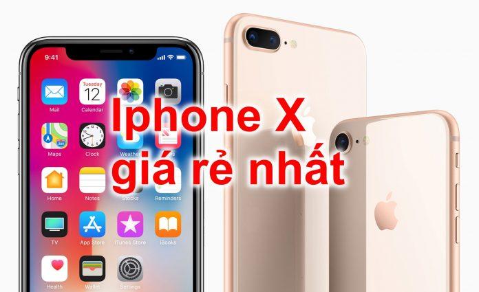 Iphone X 64gb giá rẻ nhất Hà Nội, TPHCM, hàng chính hãng T4/2018