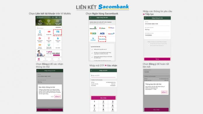 Liên kết thẻ nội địa Sacombank