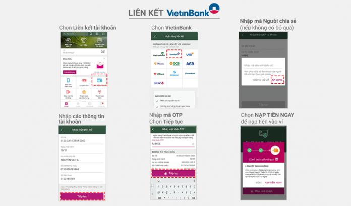 Liên kết VietinBank