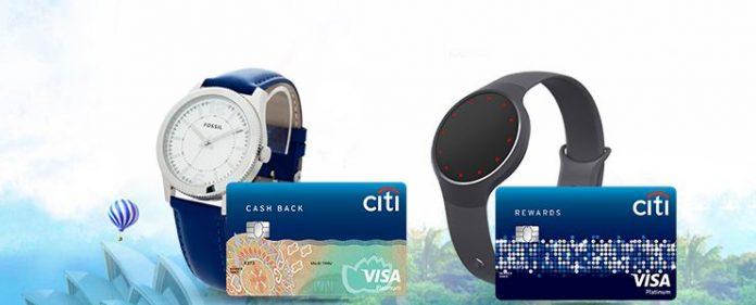 Mở thẻ tín dụng ngân hàng Citi Bank tặng đồng hồ thông minh 2018