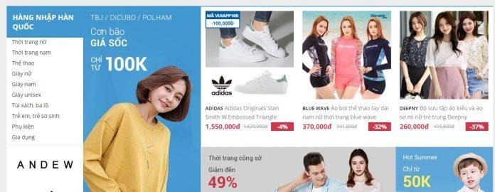 Đánh giá mua sắm thời trang Yes24