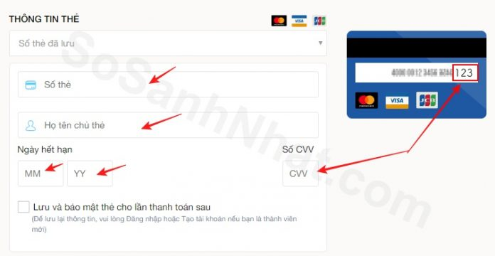 Hướng dẫn mua trả góp 0% lãi suất với thẻ tín dụng