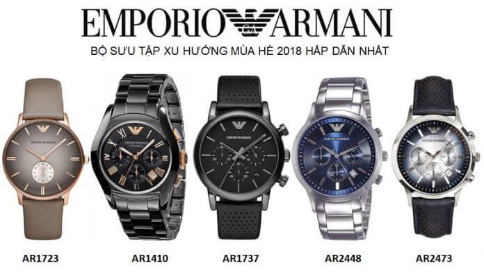 Đồng hồ Armani