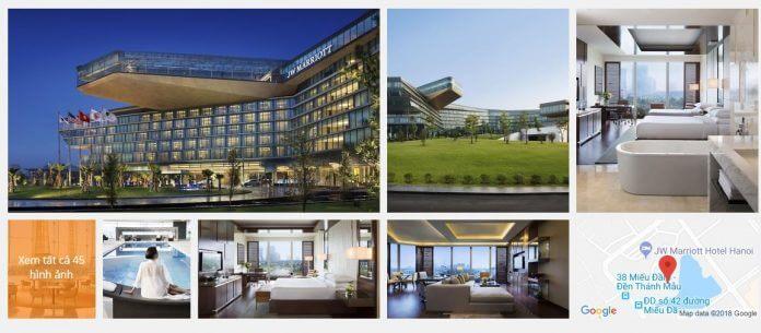 Danh sách khách sạn 5 sao ở Hà Nội giá rẻ tốt nhất 2018