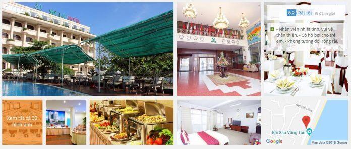 Khách Sạn Mỹ Lệ Vũng Tàu (3 sao)