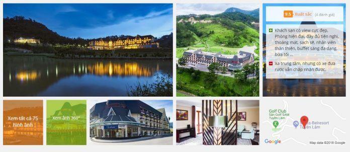 10 khách sạn 5 sao ở Đà Lạt giá rẻ tốt nhất 2018