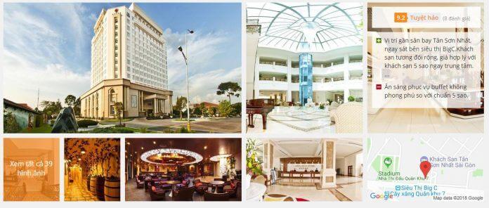 Khách sạn Tân Sơn Nhất Sài Gòn (5 sao)