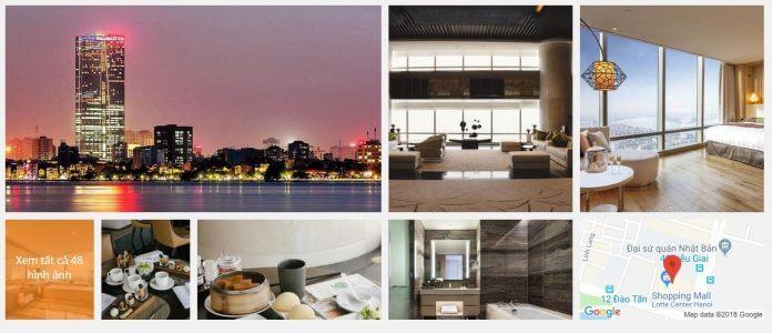 Khách Sạn Lotte Hà Nội (5 sao)