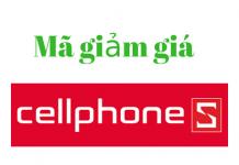 Mã giảm giá Cellphones 2018, mã khuyến mãi Cellphones T8/2018