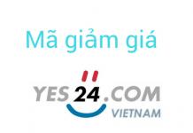 Mã giảm giá Yes24 2018, mã khuyến mãi T8/2018