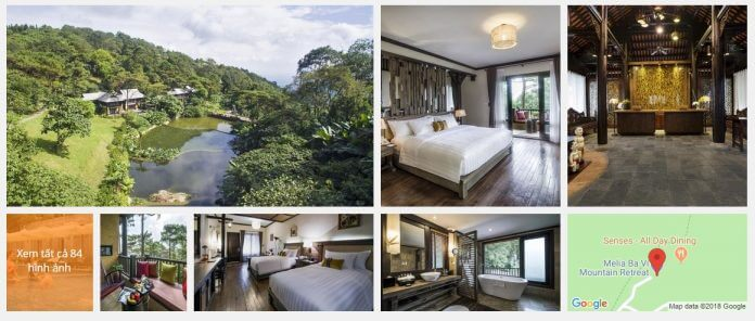 Khách Sạn Melia Bavi Mountain Retreat (5 sao)