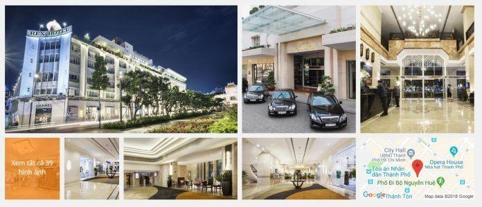 Khách Sạn Rex TPHCM (5 sao)