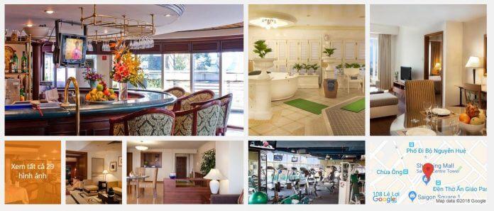 Khách sạn Sedona Suites Hồ Chí Minh (5 sao)