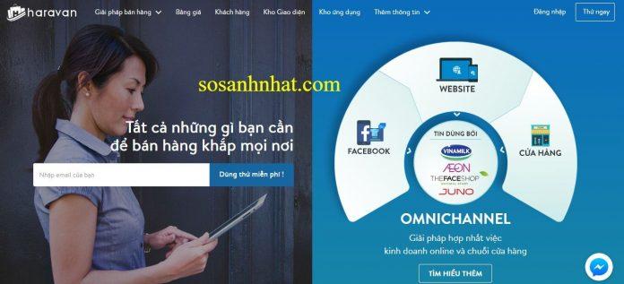Haravan - Giải pháp website bán hàng đa kênh Omnichannel