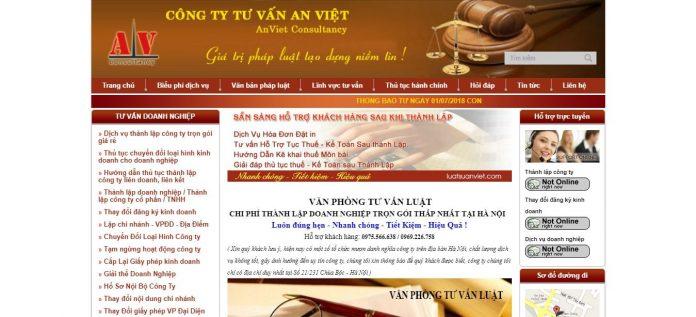 Dịch vụ thành lập công ty An Việt