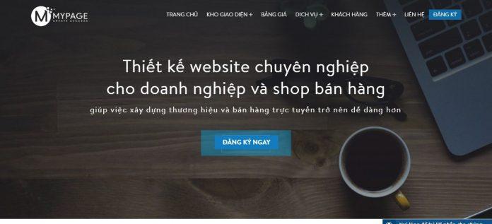 MyPage -Thiết kế web chuyên nghiệp chuẩn SEO, Tương thích Mobile