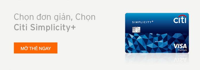 Thẻ tín dụng Citi Simplicity+