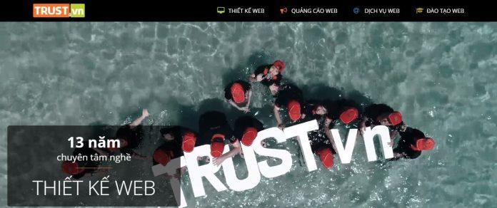 TRUST - Công ty thiết kế website chuyên nghiệp