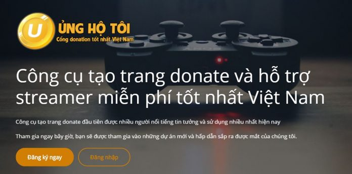 UngHoToi - Cổng donate hàng đầu Việt Nam