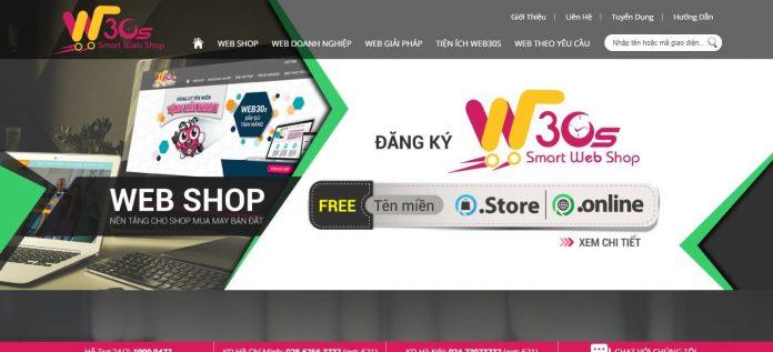 Web30s - Thiết kế website chuyên nghiệp