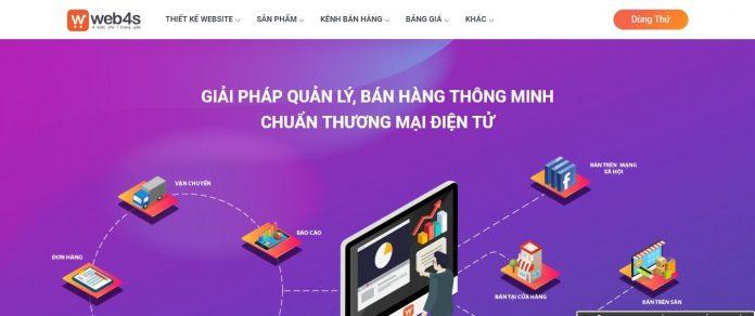 Web4s - Thiết kế website bán hàng chuyên nghiệp