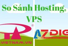 So sánh hosting Azdigi và PAVietnam 2018