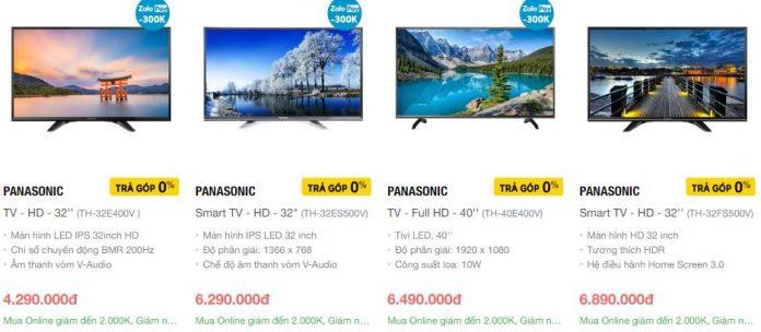 Smart tivi Panasonic còn hạn chế về hệ điều hành và các tính năng thông minh