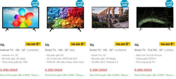 Hãng tivi TCL của Trung Quốc nổi tiếng với nhiều công nghệ mới và giá thành rẻ