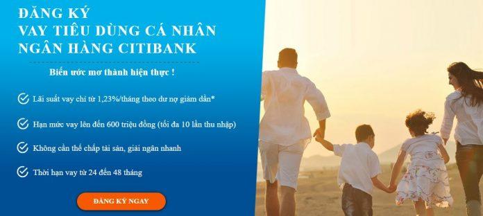 vay tiền tại ngân hàng Citibank
