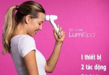 Review máy rửa mặt Lumispa của Nuskin