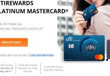 Khuyến mãi mở thẻ tín dụng tặng Vali 2020 (Citibank,VIB,VPBank)